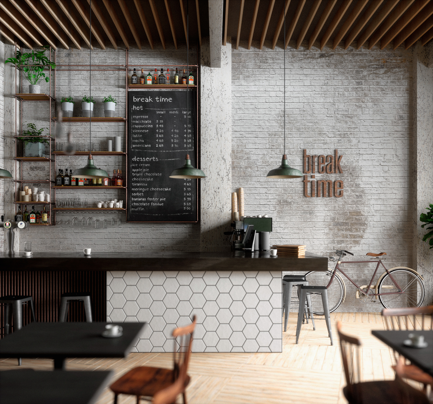 Shop Interior Design: 25 Best Coffee Shop Interior Designs From All Over The World
