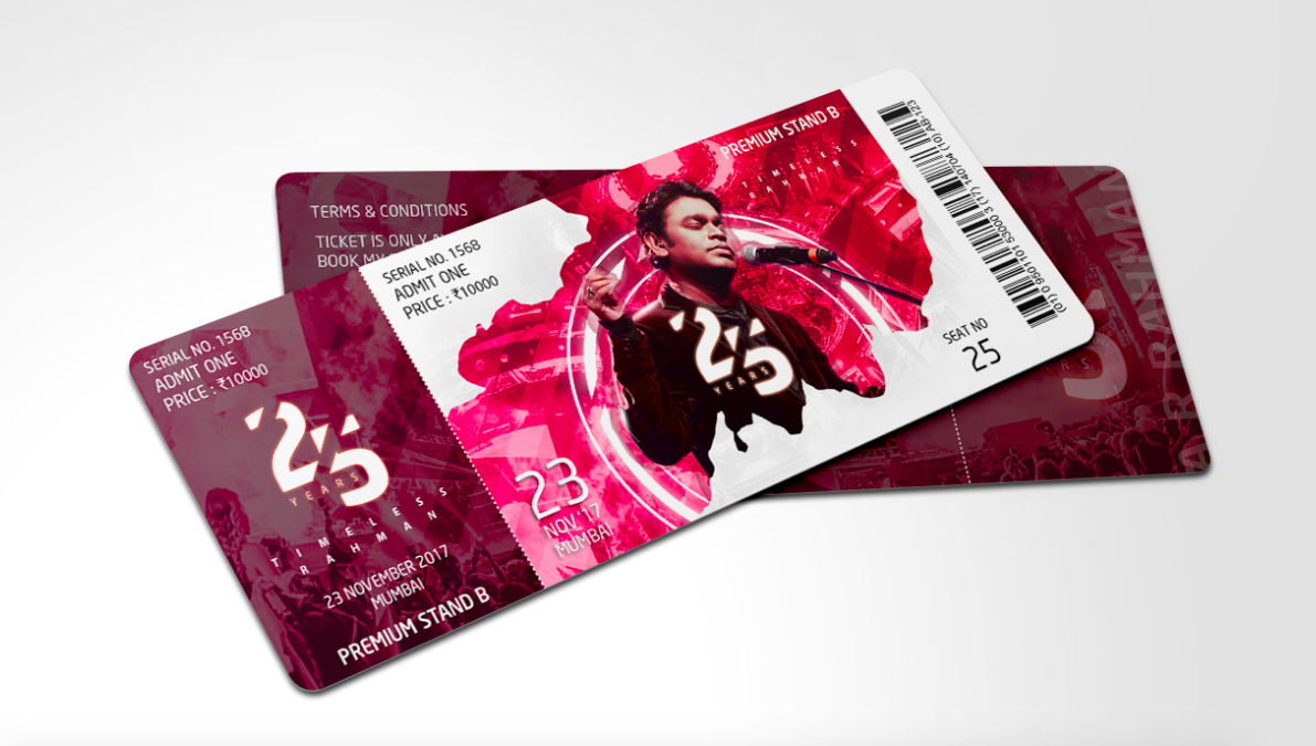 30 amazing ticket designs to inspire you event branding inspiration