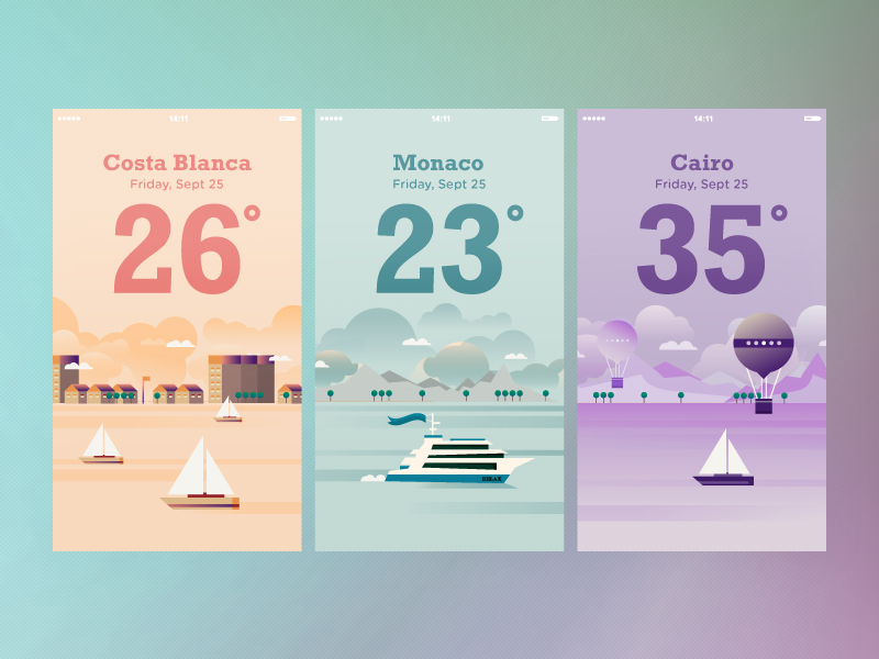 colorful-weather-app