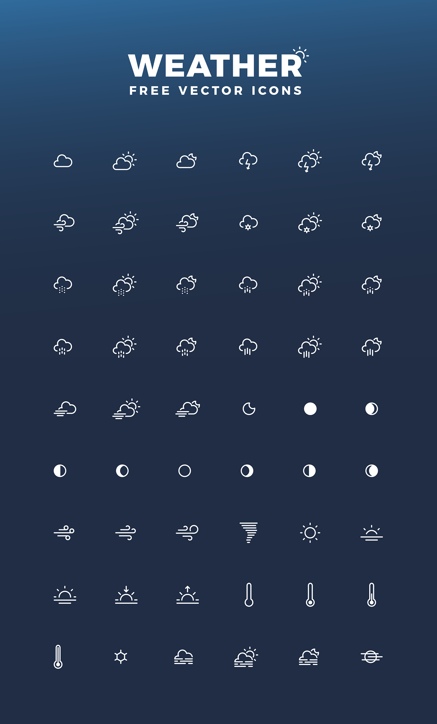 free-weather-iconsets