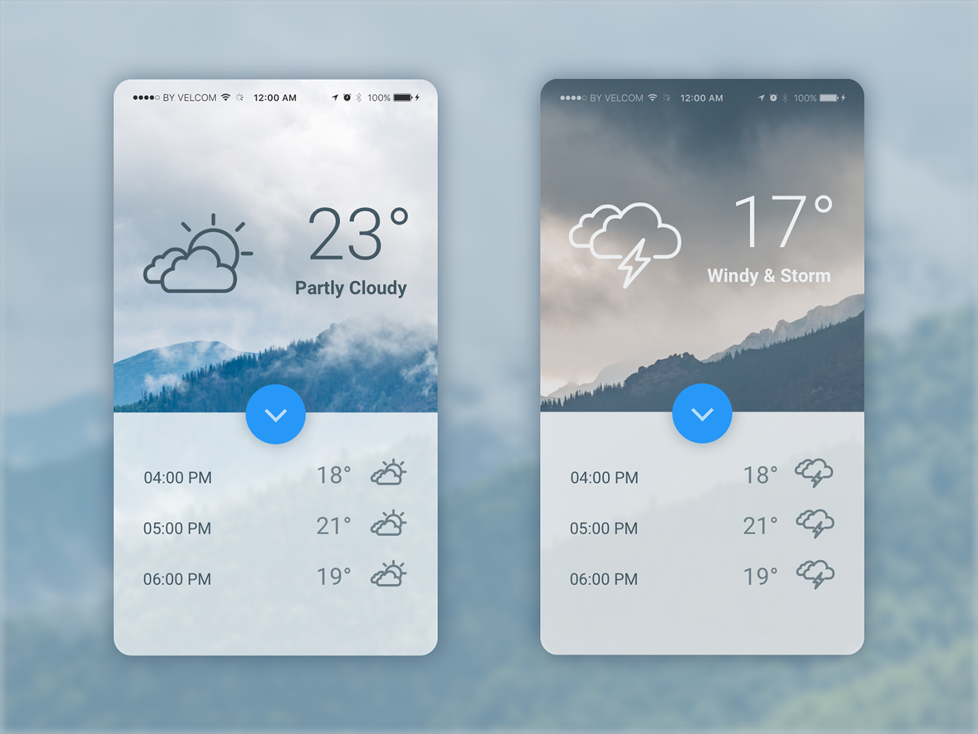 rainy-weather-ui