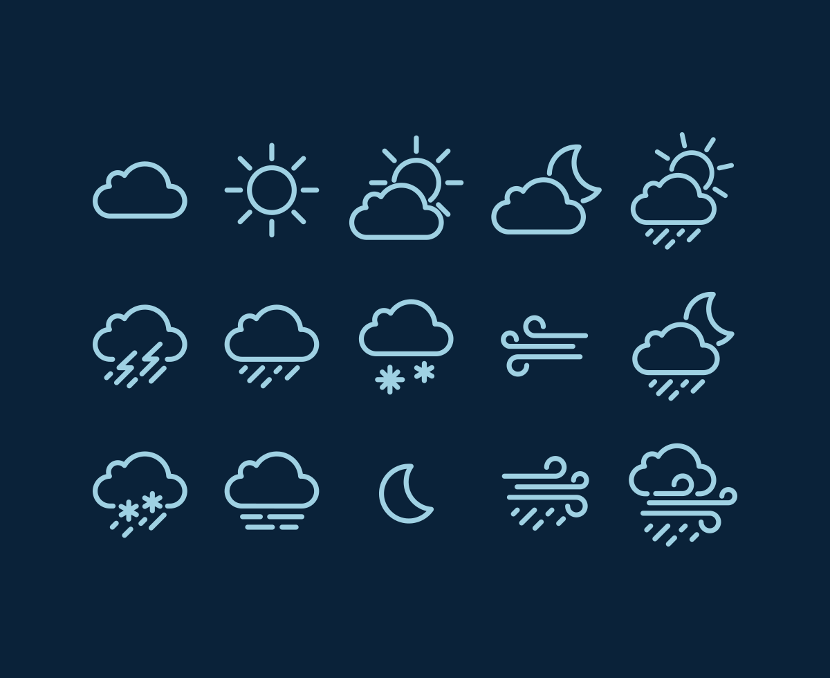 weather-vector-icons
