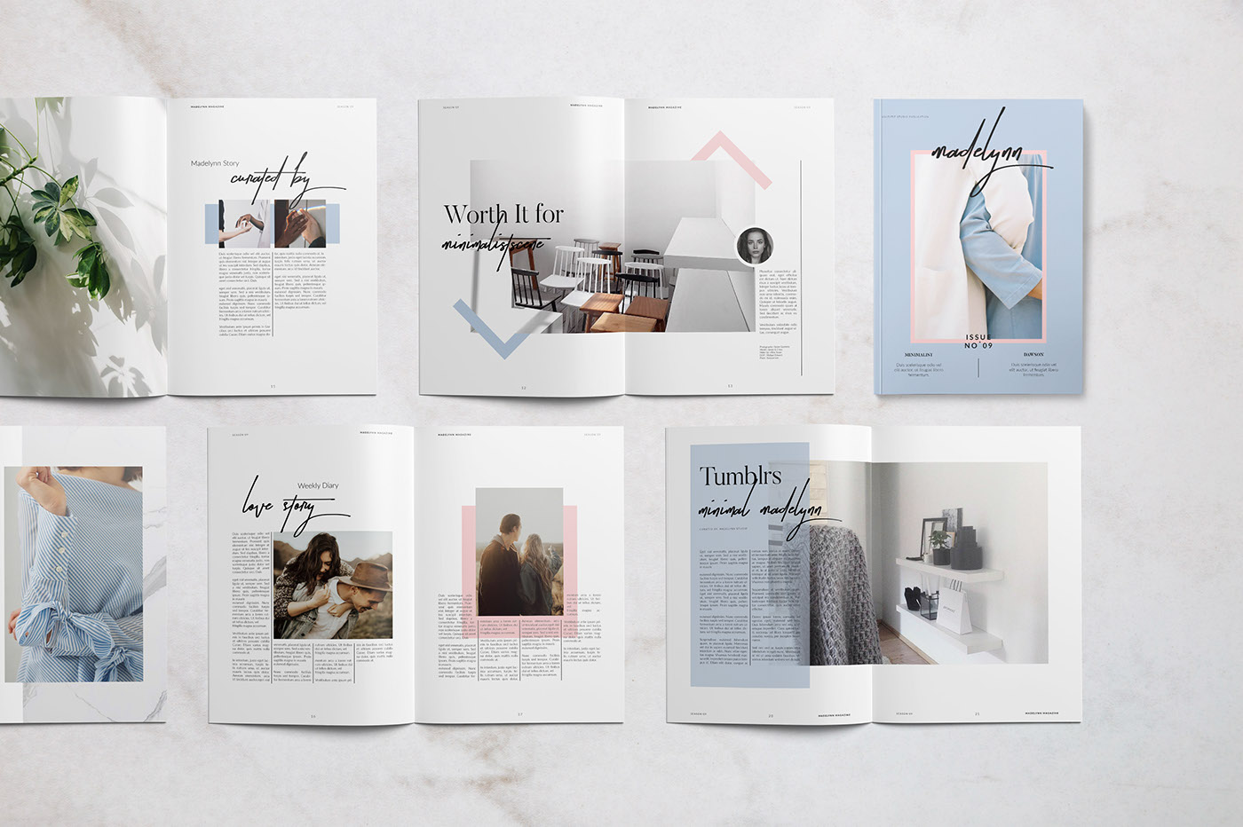 Beautiful and Inspiring Editorial Designs