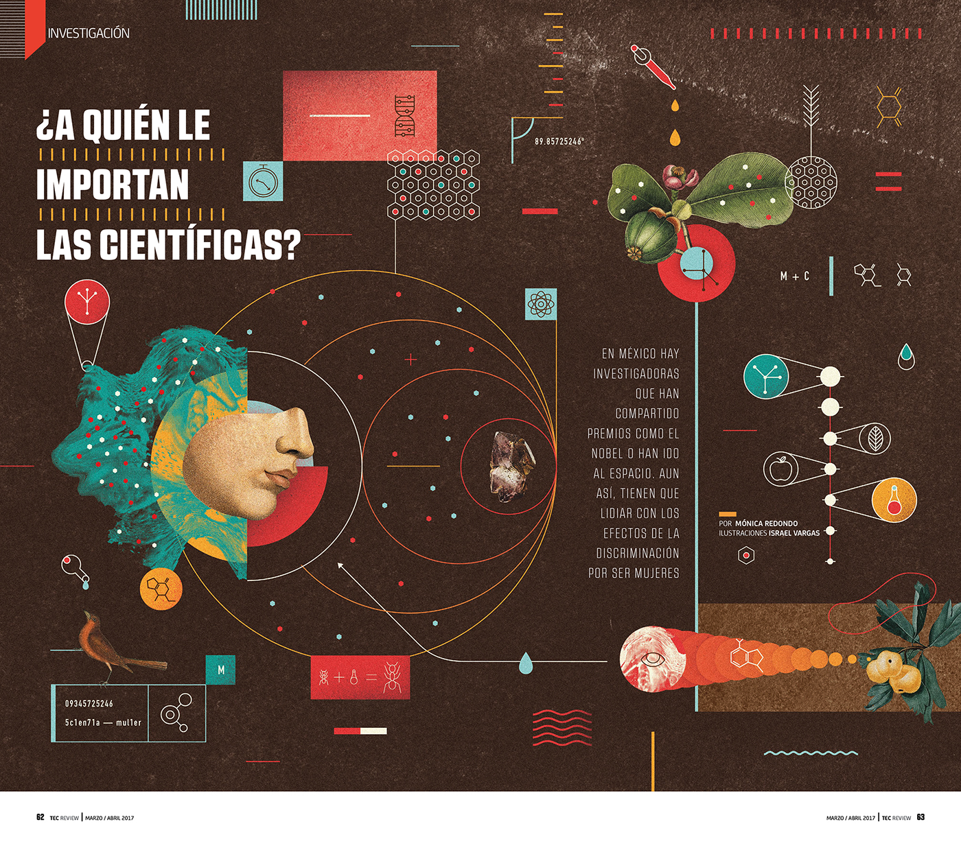 Scientific Editorial Designs
